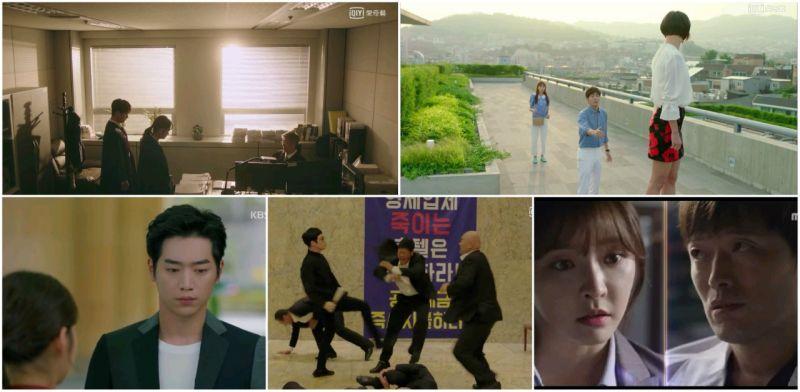 韓劇  本週無線、有線月火劇收視概況- 榜首檢法男女