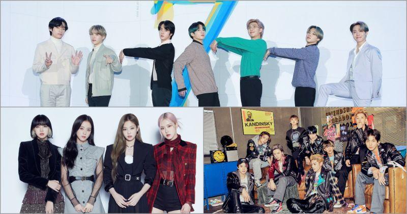 BTS防彈少年團攻佔「告示牌年度結算榜」多座排行榜 BLACKPINK、NCT 專輯也上榜!
