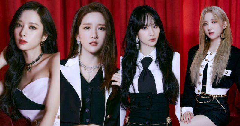 宇宙少女雪娥、Exy、苞娜和恩熙組成小分隊「The Black」 5 月發行首張單曲!