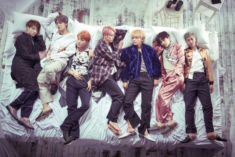 防弹少年团创纪录 〈WINGS〉 15 曲列队占领 Apple Music