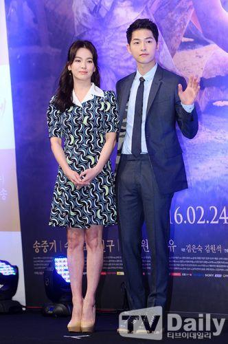 《太陽的後裔》登陸香港 「雙宋」將赴港宣傳