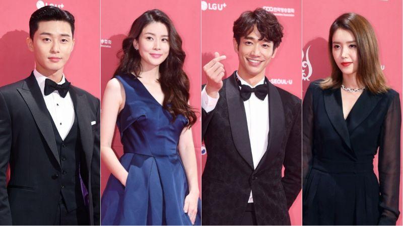 「第13屆首爾國際電視節」紅毯照!朴敘俊、李寶英、劉以豪和蔡貞安等明星出席!