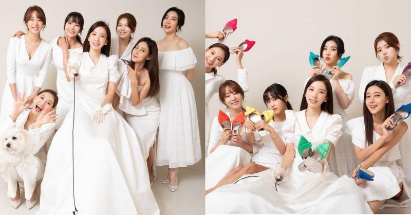最幸福的模样!Rainbow的智淑与成员们一起拍婚纱照,超美画面让粉丝感动不已!