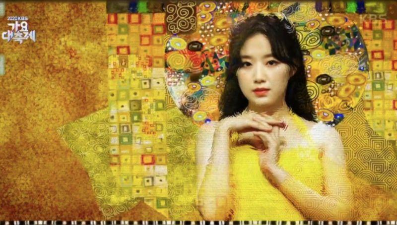 「2020 KBS歌謠大慶典」(G)I-DLE舒華搭檔IZ*ONE張員瑛頻繁出錯被罵:其實只排過一次走位而已