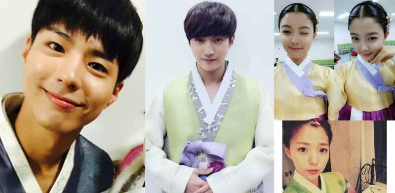 集齊《雲畫的月光》主演群 來看看他們的韓服扮相吧!