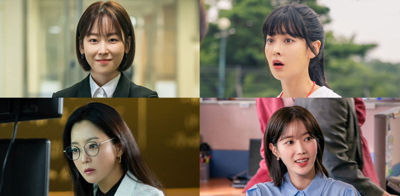 各位同學~這4位女神中,你最想哪一位當你的老師呢?