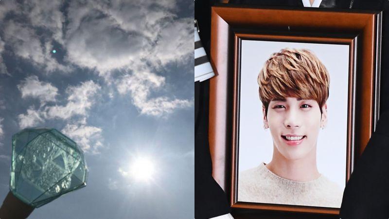 鐘鉉出殯日天現異象,這是你送給粉絲最後的禮物嗎?