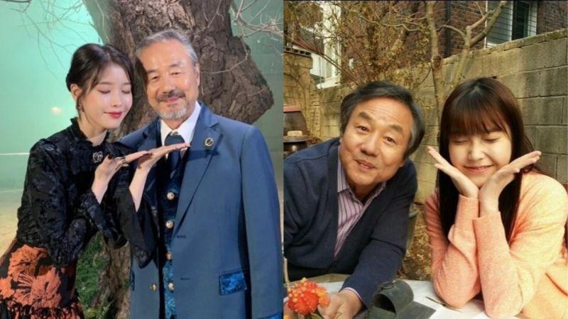 《德鲁纳酒店》张满月社长和卢总经理!两人在7年前就曾饰演过「父女」,还因此结下了好缘份!