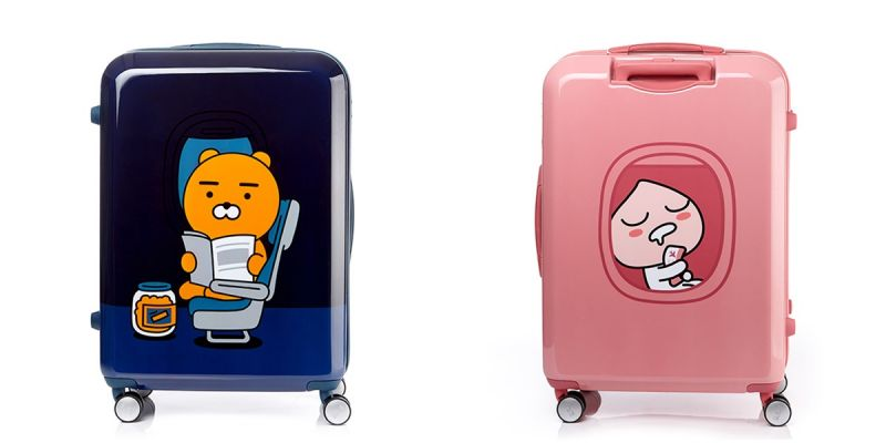 一起買起來!samsonite再次推出Ryan、Apeach行李箱