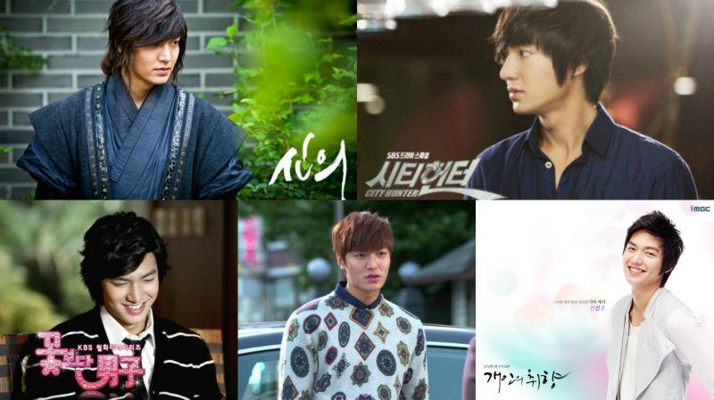 李敏鎬近年電視劇演過的角色中!你最喜歡的是哪一個呢?