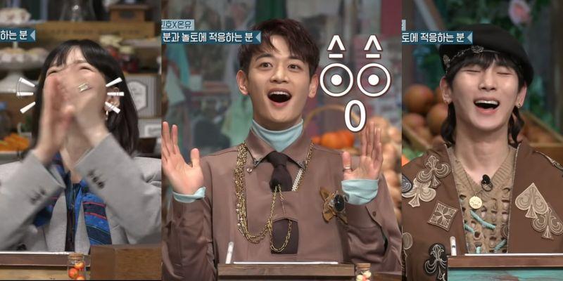 珉豪在《認識的哥哥》抱怨Key不給見,在《驚人的星期六》抱怨太妍見Key沒見自己XD