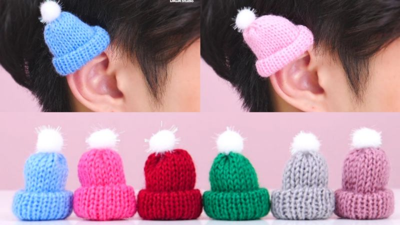 給耳朵戴上小帽子,可愛指數飆升!