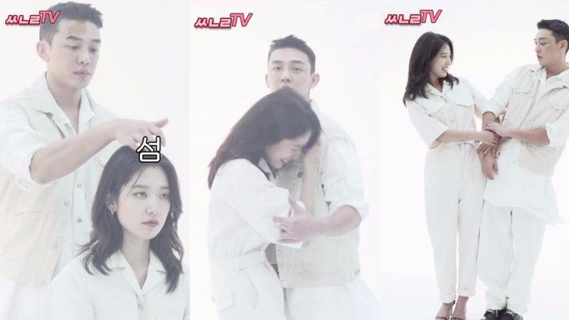 似糖非糖? 劉亞仁×朴信惠雜誌拍攝的背後,默契互動超有愛!