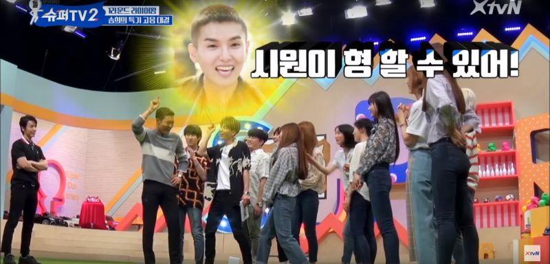《Super TV 2》與勝熙的「高音對決」!為了獲勝希澈對始源說:厲旭在看啊~
