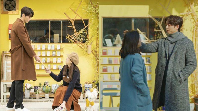 《爱上变身情人》和《鬼怪》都在同一家书店取景拍摄!满满的回忆啊~