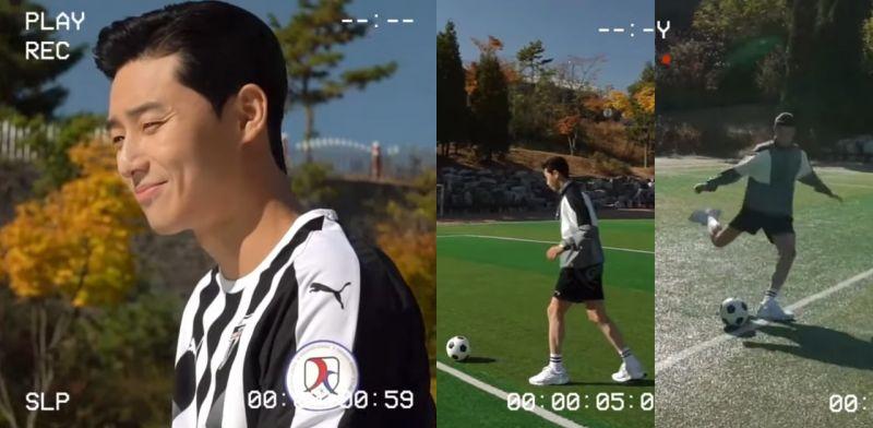 《雞不可失》李導新作電影《Dream》公開朴敘俊化身足球員的拍攝花絮,陽光笑容超療癒~