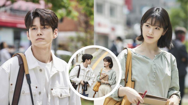 JTBC新劇《境遇之數》劇照首次公開!邕聖祐與辛睿恩對視,讓人看了都心動 ♥ 期待這部浪漫喜劇!