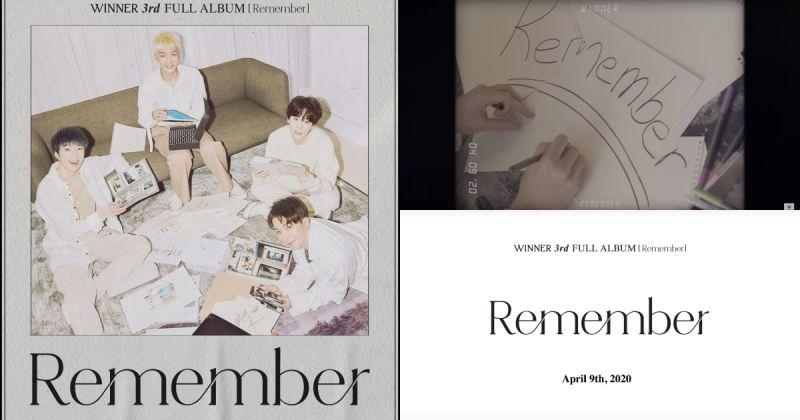 WINNER 新專輯驚喜滿滿 重錄 4 人版經典歌曲!