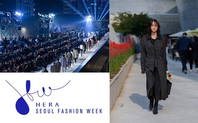 將東大門歷史文化公園邊化身為潮流伸展台的Seoul Fashion Week