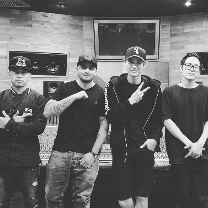 與Far East Movement合作曲《Freal Luv》公開  EXO燦烈英、韓文Rap實力驚人