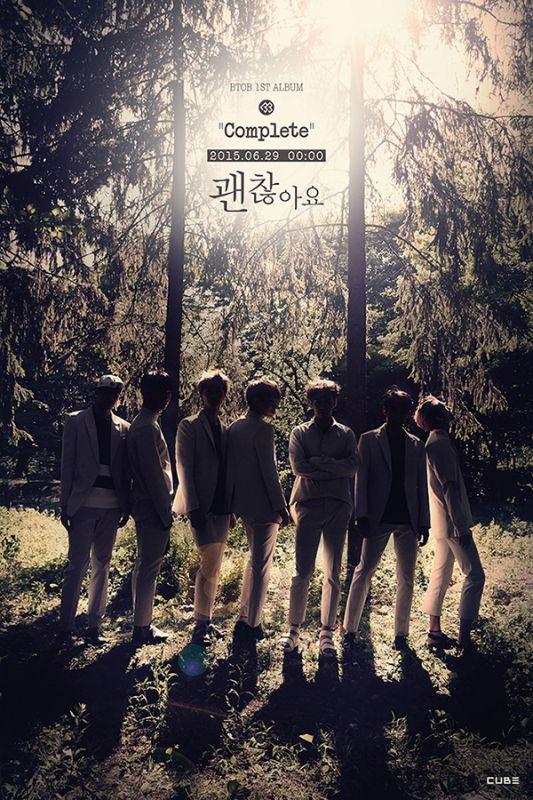 BTOB本月發專輯《Complete》 首支慢歌《沒關係》