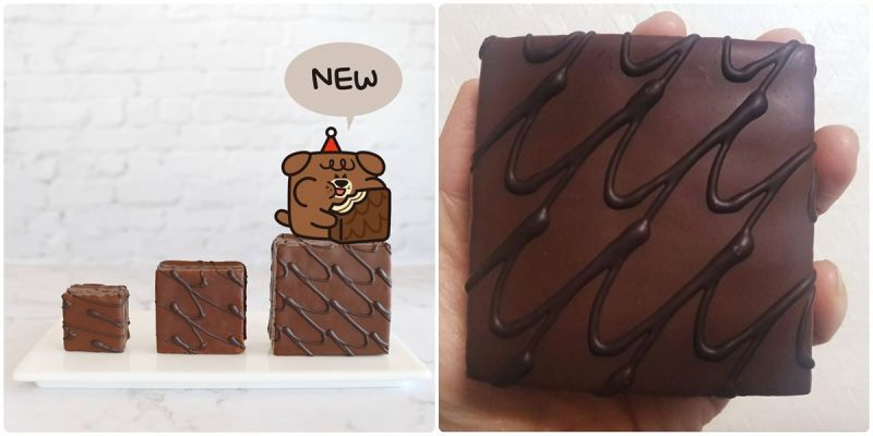 吃一个就满足,海太新款《BIG香蕉巧克力派》跟手掌一样大!