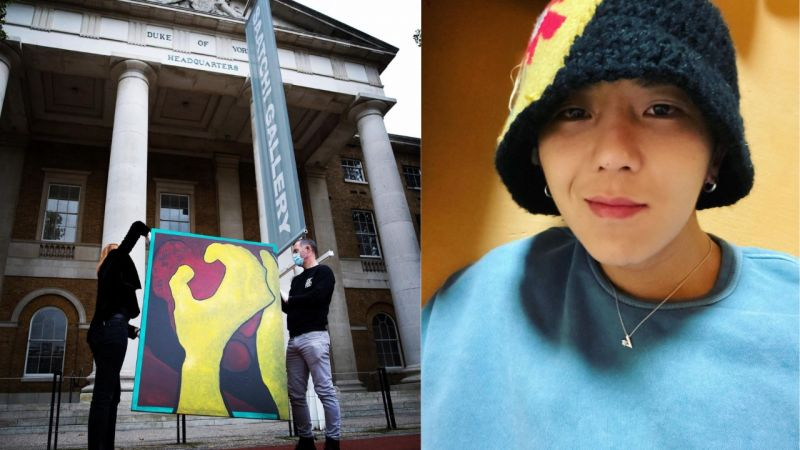 KPOP歌手最初!WINNER宋旻浩的画作将在伦敦画廊进行展示,宋画伯走向国际啦!
