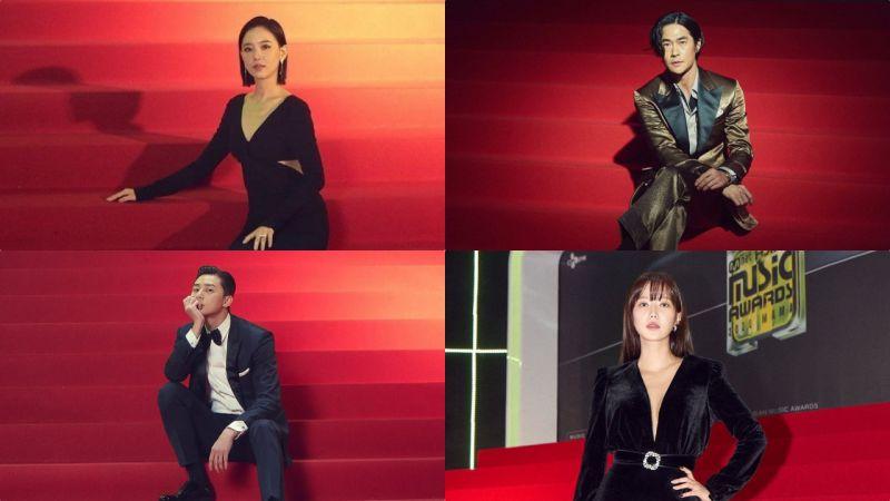 给 《2020 MAMA》摄影师加鸡腿!把演员们的走红毯拍出了时尚大片的感觉