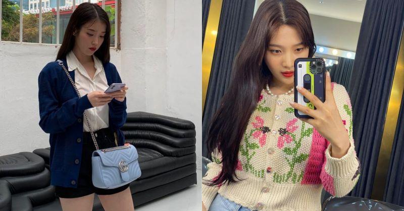 秋意渐凉!如何穿出百搭的开襟衫风格,IU、Joy、泫雅直接示范最韩系的穿法!