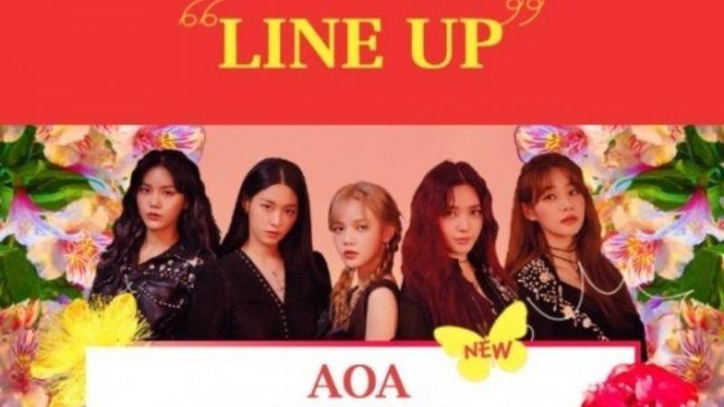 因智珉引起的相关争议!AOA原定在9月出演的庆典已取消,FNC:「向主办单位请求了谅解」
