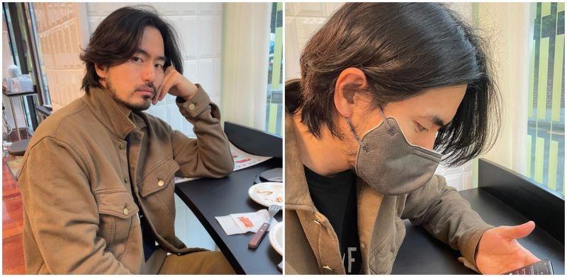李陣郁IG更新長髮鬚鬍照!網友:「這是歐巴簽約金入帳前的照片?」