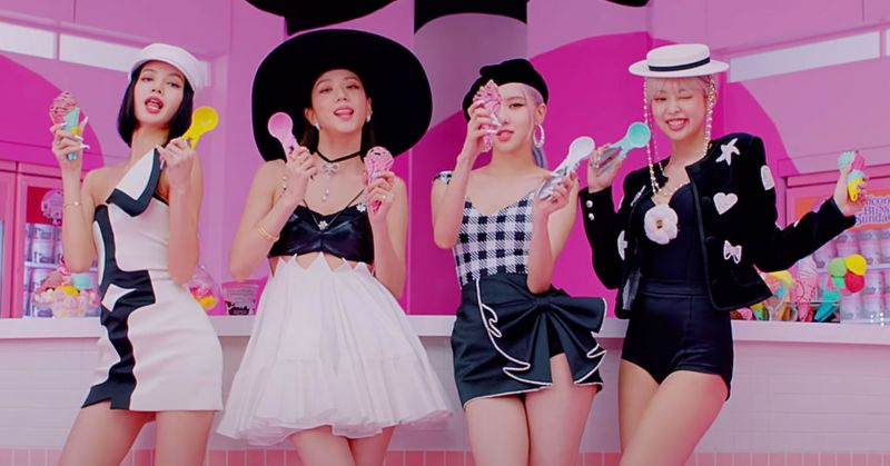 恭喜 BLACKPINK!第十支破五億 MV 誕生——〈Ice Cream〉