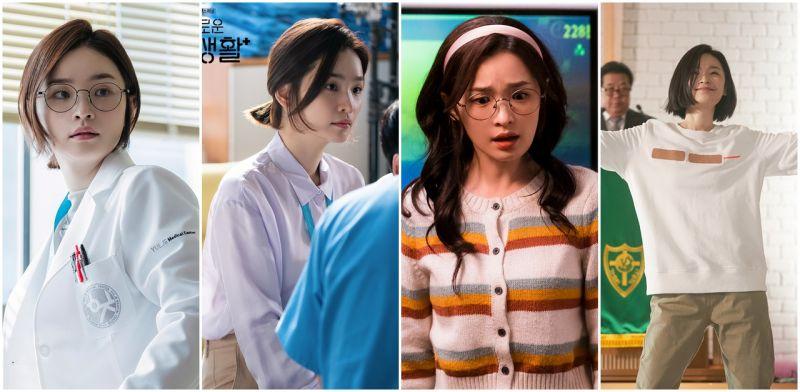 《机智医生生活》中的模范生蔡颂和! 看来稚嫩的田美都竟然已婚!