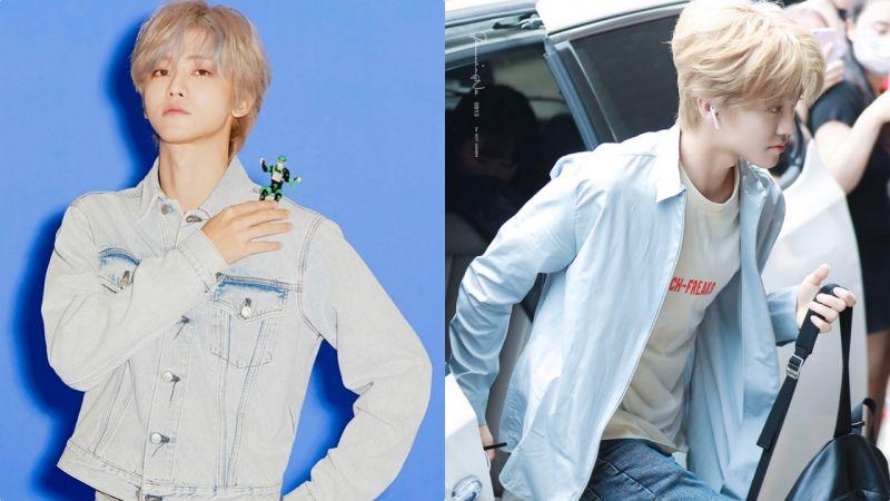 這樣染髮絕對不會撞色!NCT渽民超酷的新造型可能要引領新時尚潮流了~