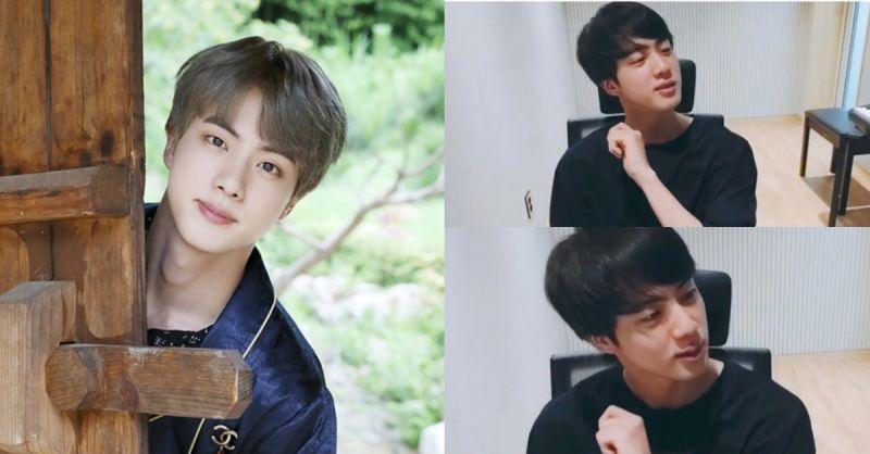BTS防弹少年团Jin中秋过节收到舅妈给的零用钱   模仿瞬间迟疑表情超爆笑XD