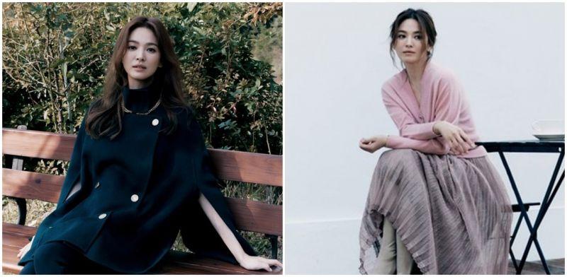 宋慧乔代言时尚服饰品牌:完美展现秋冬魅惑
