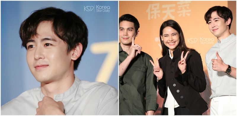 《把哥哥退貨可以嗎》2PM Nichkhun與主演來台宣傳  與粉絲約定3年Long Stay!