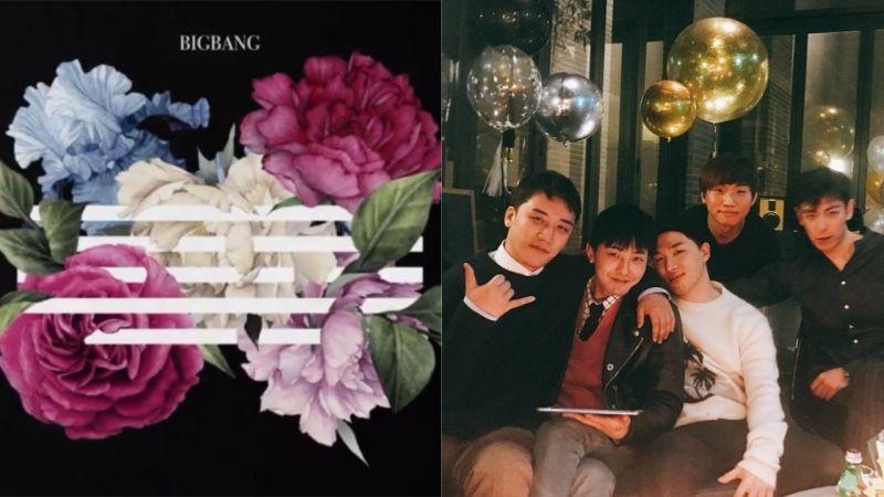 BIGBANG新曲《花路》包揽音源榜一位!胜利:预计今年入伍,将BIGBANG的空白期减到最小化!