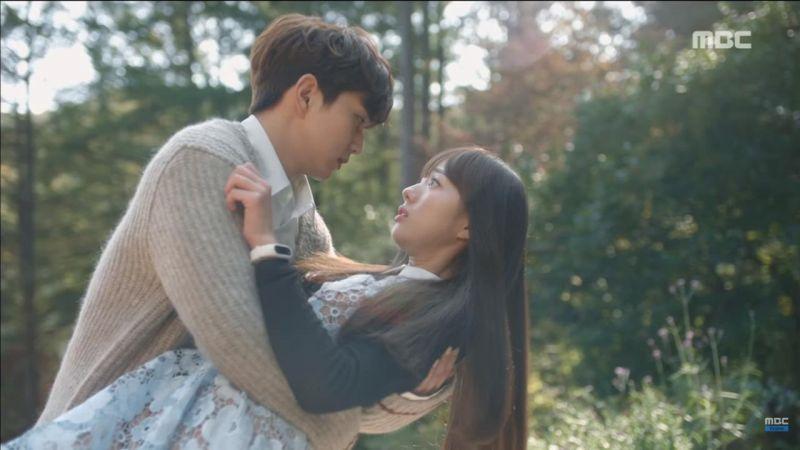 《不是機器人啊》俞承豪&蔡秀彬雨中浪漫的純愛初KISS 也太甜了吧~!