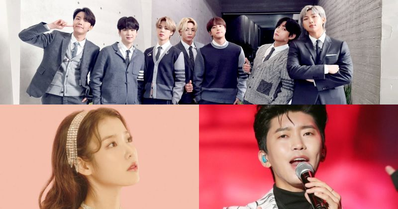 【百大歌手品牌評價】BTS防彈少年團再度奪冠 IU、林英雄獲二、三名