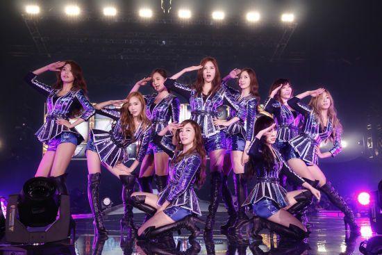 少女時代日巡創韓國女團最高入座率