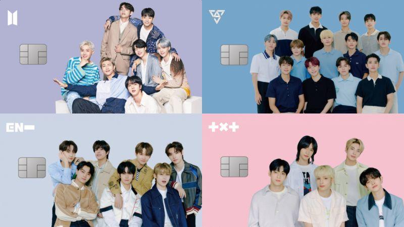 Weverse信用卡來啦!BTS、SEVENTEEN、TXT、ENHYPEN四種可選