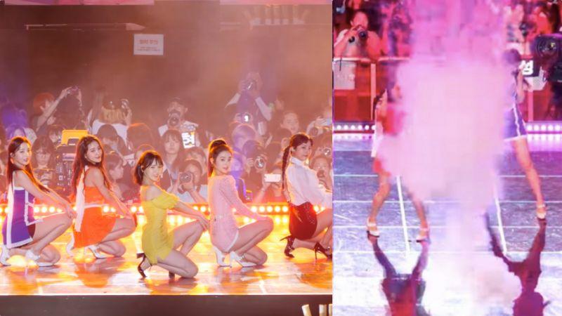 【有片】超心疼!Red Velvet Joy為粉絲努力克服爆竹恐懼 緊閉雙眼也要完成表演