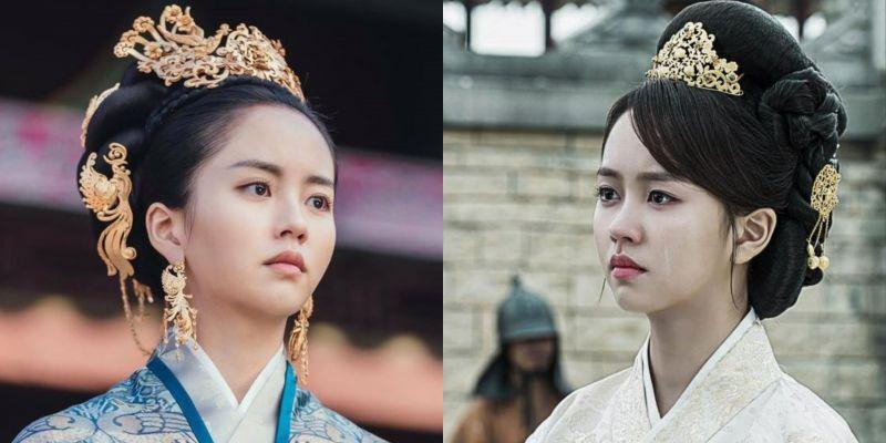 金所炫继《学校2015》再次分饰两角,《月升之江》王后扮相宛如重现《鬼怪》