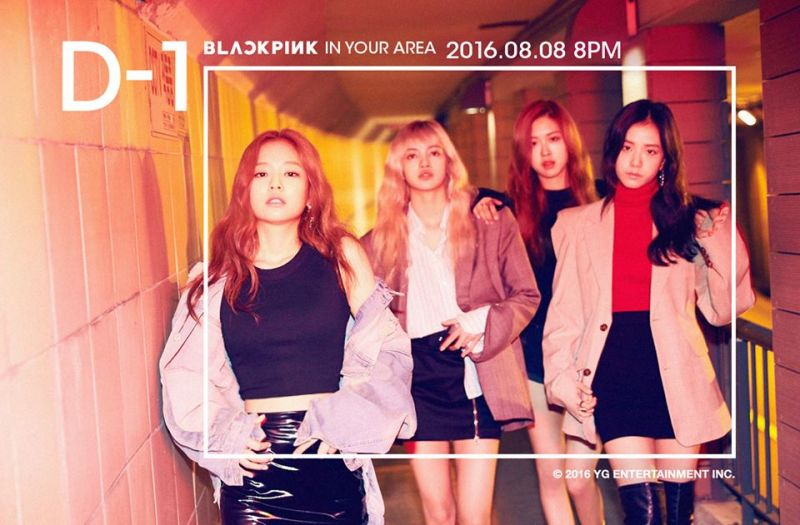 YG新女团《BLACKPINK》明天正式出道!