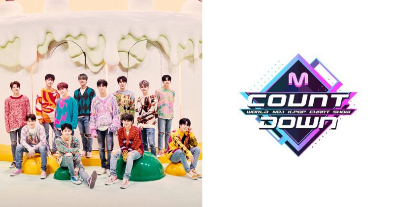 YG——Mnet 破冰 TREASURE 今日首度登《M! Countdown》!