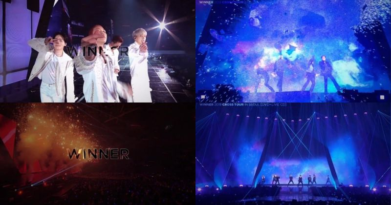 WINNER 公开演唱会 DVD 预告片 〈OMG〉片段帅气又感人!