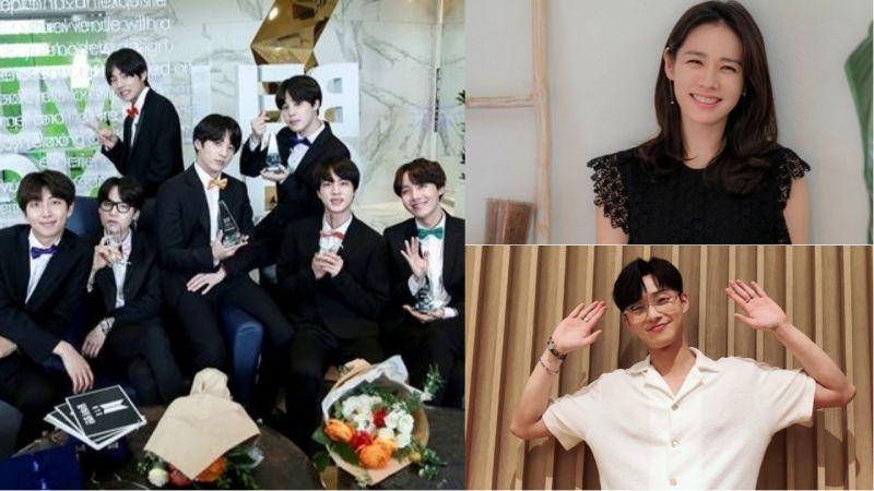 韩网友票选「2018上半年」最佳爱豆、演员和电视剧!防弹少年团、孙艺珍和朴叙俊获一位!