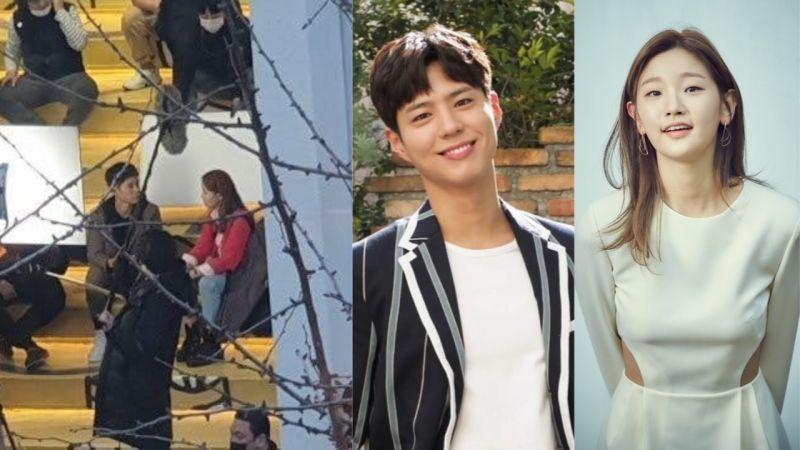 朴寶劍、朴素丹tvN新劇《青春紀錄》路透照!網友分享路透後記:「大家都應該要看看他本人!」