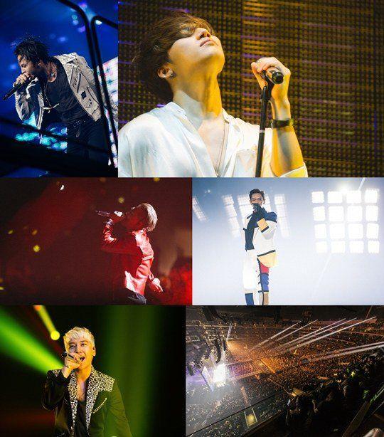 BigBang美國LA演唱會   成為世界上最多入場收入的演出前10名